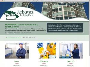 Arbutus web site
