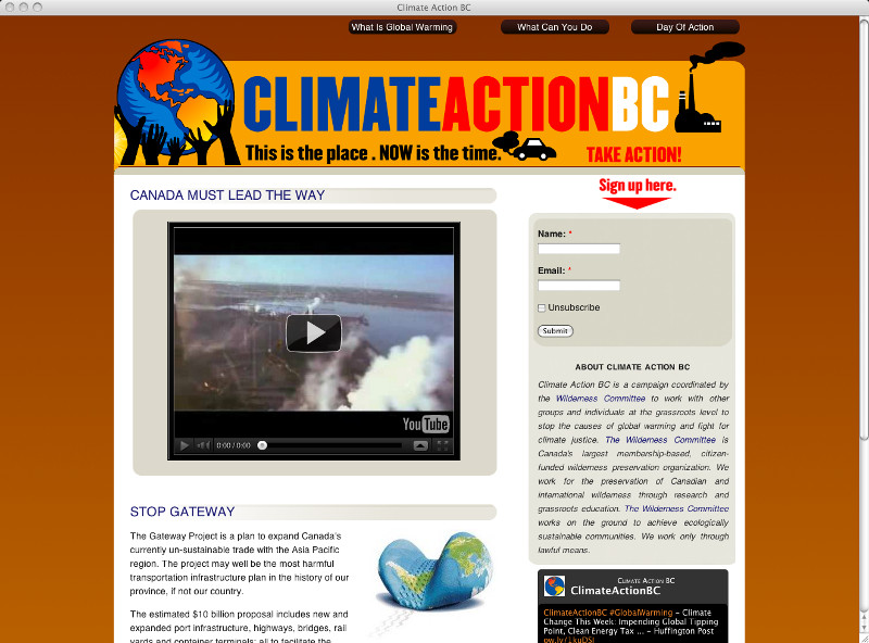 Climate Action BC