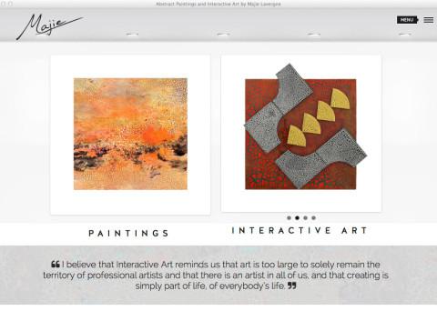 Majie.ca Artist Web Site