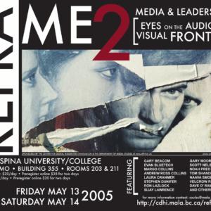 Reframe 2 Media Conference Poster