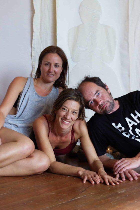 Eating Sunlight Trio Joy, Jen and Hannu