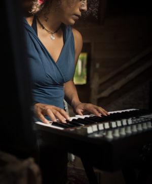 Romina in Studio
