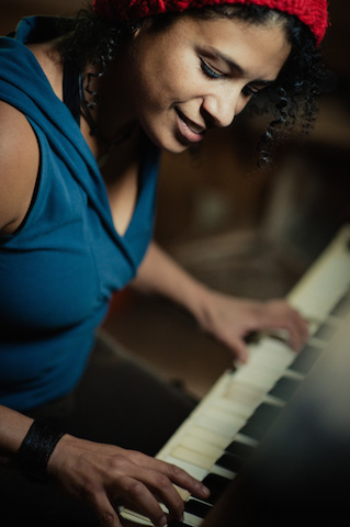 Romina On Piano